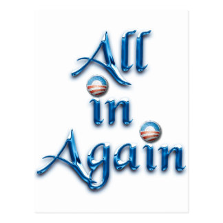 All in Again Postcards