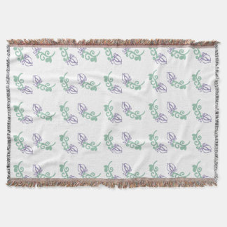All in Bloom! Throw Blanket
