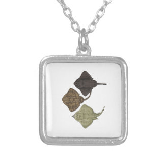 ALL IN FORMATION SILVER PLATED NECKLACE