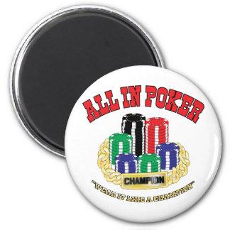 All In Poker Magnet