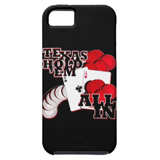 All in texas holdem iPhone 5 case