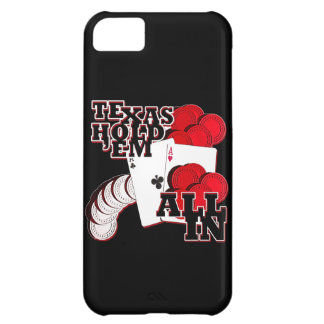 All in texas holdem iPhone 5C case