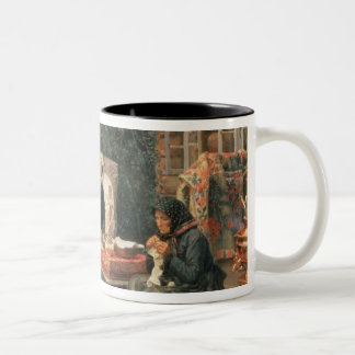 All in the Past, 1889 Two-Tone Coffee Mug
