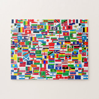 All International Flags Jigsaw Puzzle