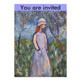 All is blossom Invite 13 Cm X 18 Cm Invitation Card