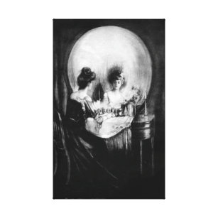 Skull Canvas Prints Amp Wall Art Zazzle Co Uk