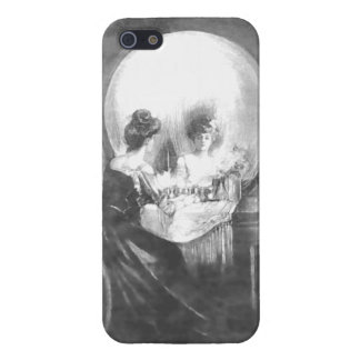 All is Vanity-Woman at Mirror or a Skull? Case For The iPhone 5