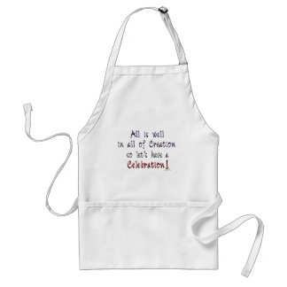 All is well in all of Creation Standard Apron