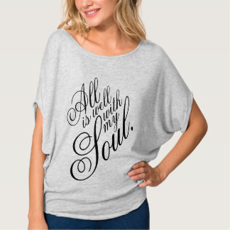 All Is Well Tee