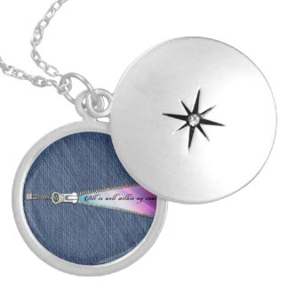 All is well within my soul locket necklace