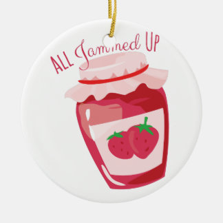 All Jammed Up Christmas Ornament