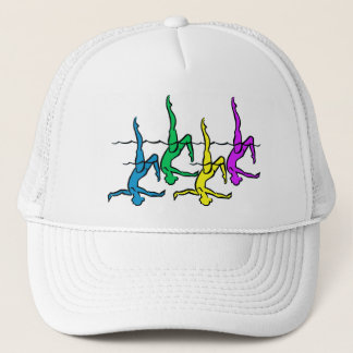 All Legs - Bright Colors Trucker Hat