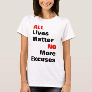 """""""All Lives Matter"""" Light Shirts"""