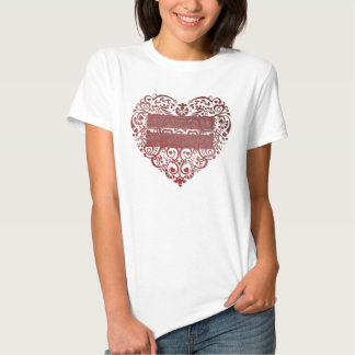 """All Love Is Equal"" Filigree Heart Womens T-Shirt"
