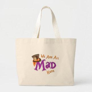All Mad Jumbo Tote Bag