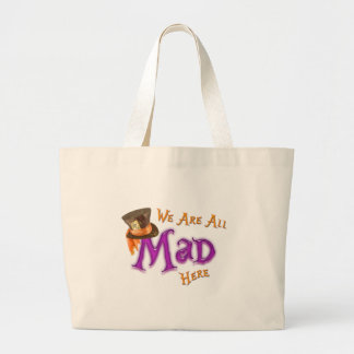 All Mad Large Tote Bag