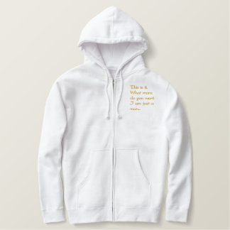 All Me Man Collection Embroidered Hoodies