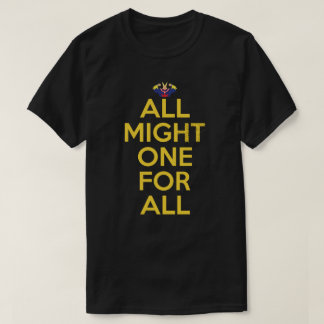 All Might All For One Anime Manga Shirt