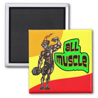 All Muscle Magnet