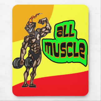 All Muscle Mouse Pad