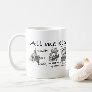 All my blooming life coffee mug