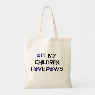 All my children have paws bag