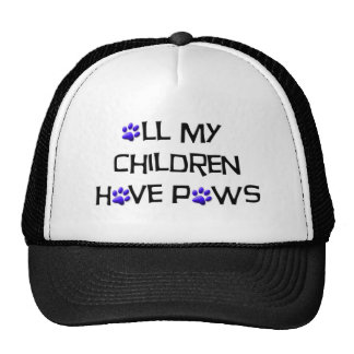 All my children have paws hat