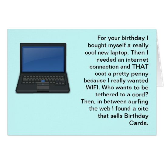 All my computer stuff cost a lot happy birthday card zazzle all my computer stuff cost a lot happy birthday card bookmarktalkfo Gallery