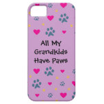 All My Grandkids-Grandchildren Have Paws Barely There iPhone 5 Case