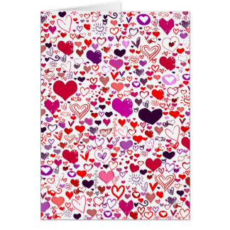 All My Hearts for You Greeting Card