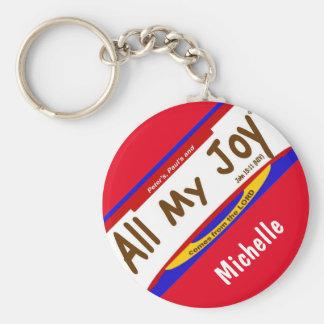 "All My Joy Christian  Keychain (2.25"")"
