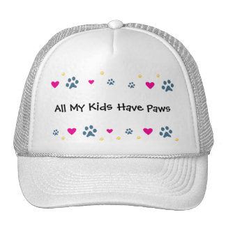 All My Kids-Children Have Paws Hats