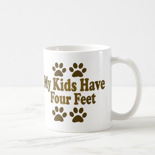 All my Kids Have Four Feet Basic White Mug