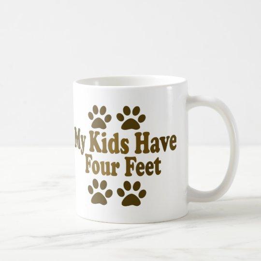 All my Kids Have Four Feet Coffee Mug