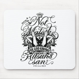 All my love to BM (White ver.) Mouse Pad