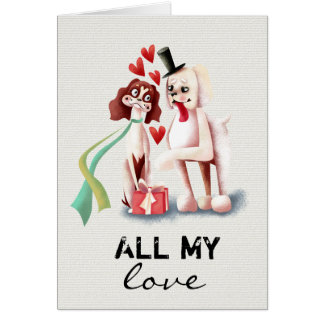 All My Love | Valentines Day Card