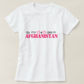All my X's and O's are in Afghanistan T-Shirt