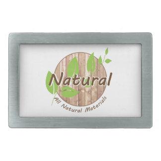 All Natural Materials Belt Buckle