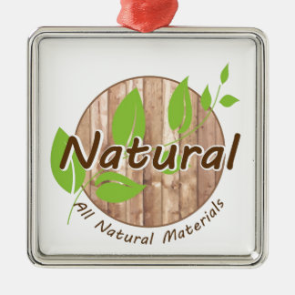 All Natural Materials Christmas Ornament
