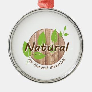 All Natural Materials Christmas Ornament