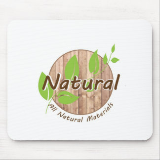 All Natural Materials Mouse Pad