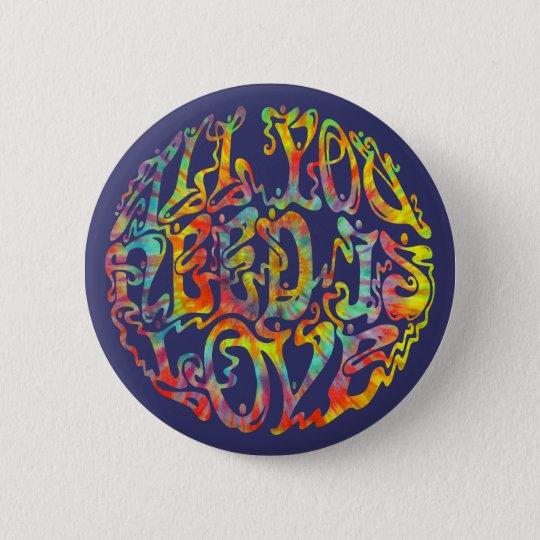 All Need Love III 6 Cm Round Badge