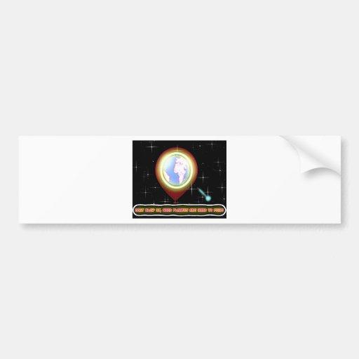 All new Environmental Design Bumper Stickers