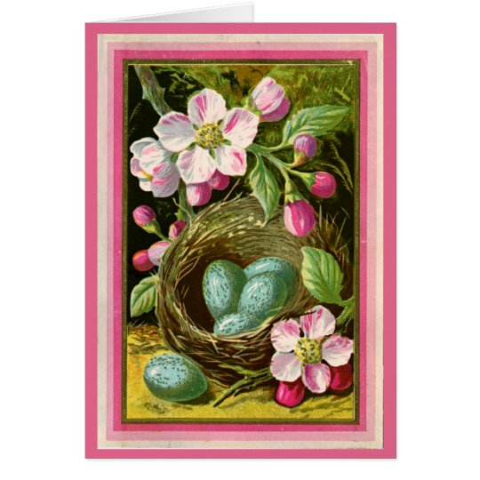 All Ocassion  Birdnest  Thank You Note Greeting Card