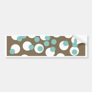 All Occasion Dots Greetings Bumper Sticker