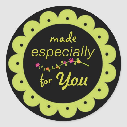 "All Occasion ""Made for You"" Stickers"
