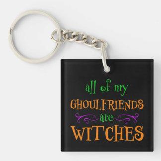 Gothic Skull Halloween Key Rings