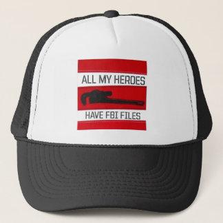 All of My Heros Trucker Hat