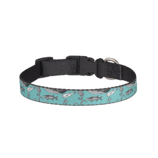 All Of The Sea Pattern Pet Collar