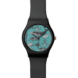 All Of The Sea Pattern Watch